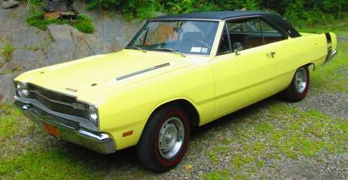 1969 Dodge Dart Swinger Gts 340 4bbl 4 Speed For Sale Amenia New York