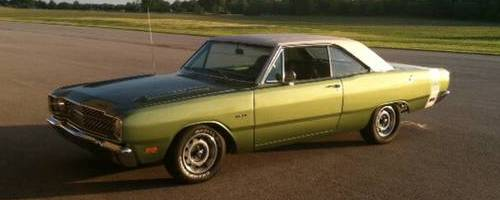 1969 Dodge Dart Swinger 340 2dr Coupe For Sale In Noblesville Indiana