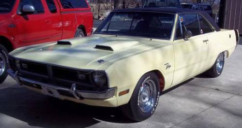 1971 dodge dart swinger 360 727 auto for sale in bethel. Black Bedroom Furniture Sets. Home Design Ideas