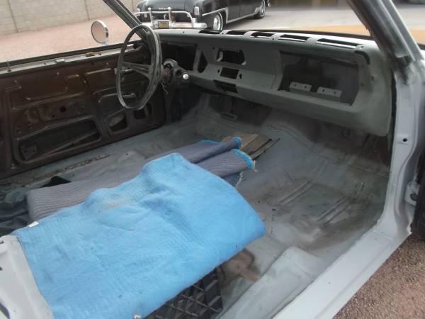 1973 Dodge Dart Swinger Rolling Shell For Sale in Apache ...