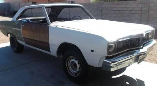 1973 Dodge Dart Swinger Rolling Shell For Sale In Apache