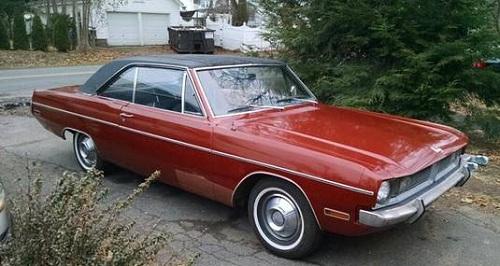1970 Dodge Dart Swinger Slant 6 Burnt Orange For Sale In Manchester Ct