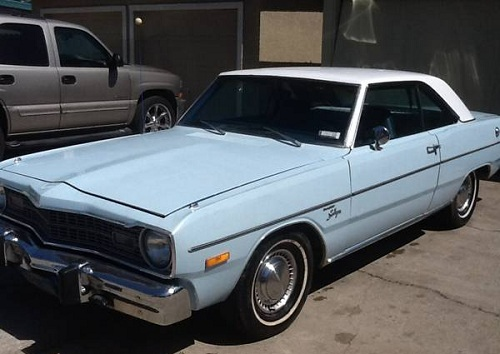 1974 dodge dart swinger 6cyl auto 2doors for sale in san jose california. Black Bedroom Furniture Sets. Home Design Ideas