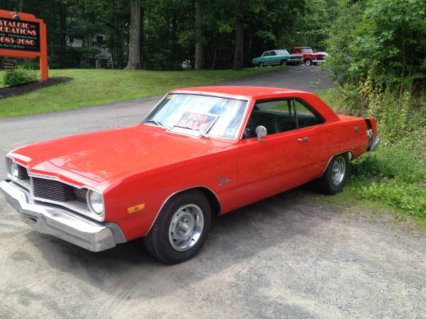 Craigslist Pa Poconos >> 1975 Dodge Dart Swinger High Performance 440 Mopar For