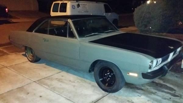 1970 Dodge Dart Swinger Coupe 360 5.9L motor For Sale in ...