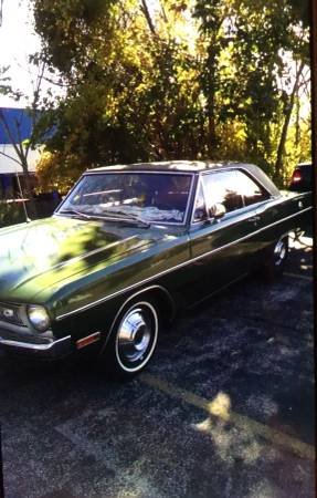 1970 Dodge Dart Swinger 6 Cylinders For Sale In Plymouth Meeting Pa