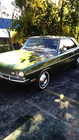 1970 Dodge Dart Swinger 2 Door Coupe V6 Auto For Sale in ...