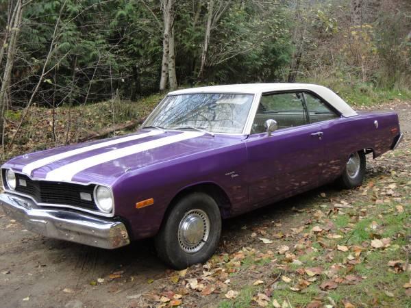 1974 Dodge Dart Swinger 2 Door Coupe For Sale In Horseshoe Bay Bc