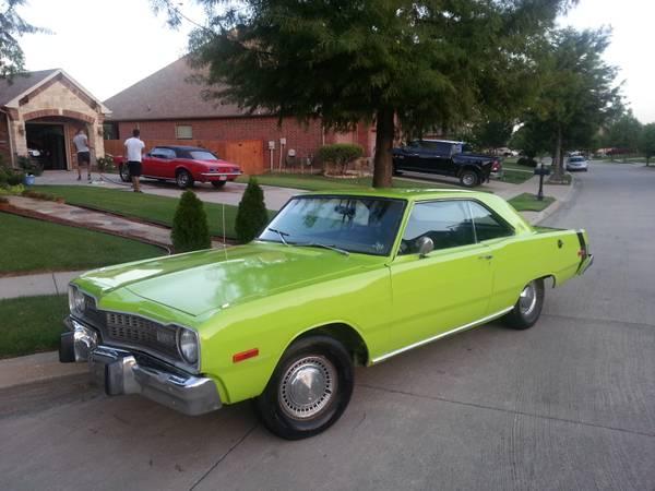 1974 Dodge Dart Swinger 2 Door Coupe Slant 6 For Sale in ...