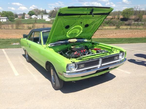 1970 Dodge Dart Swinger 440 V8 Manual For Sale In Brogue Pa