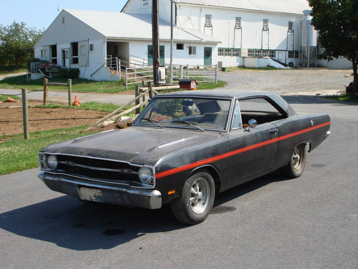 1969 Dodge Dart Swinger 318 V8 Automatic For Sale in ...