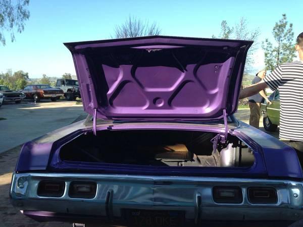 1971 Dodge Dart Swinger edelbrock 4 barrel intake For Sale ...